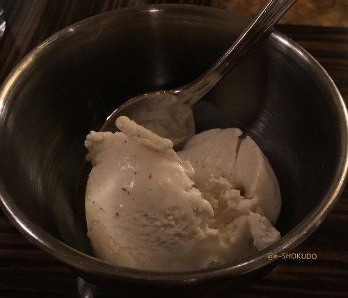 buffetバニラアイス