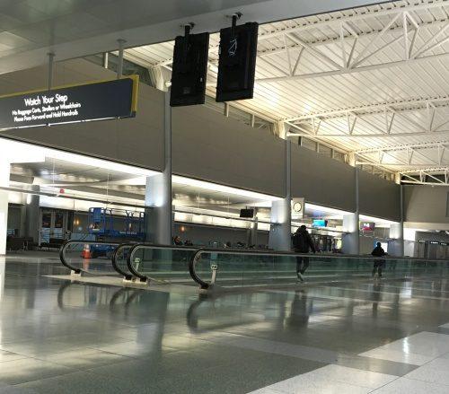 ラスベガス空港午前5時