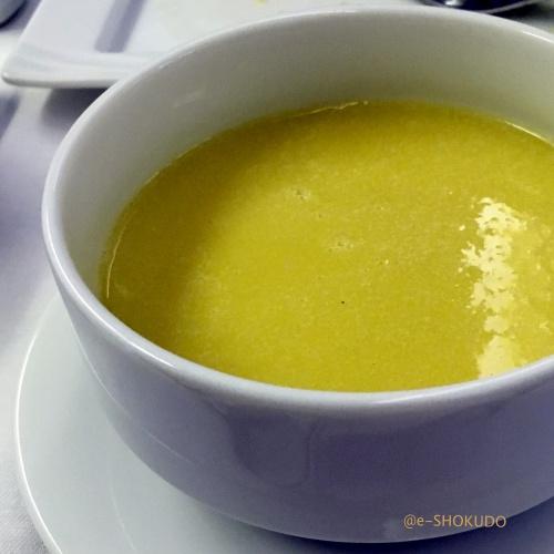 ANA国際線機内食コーンスープ