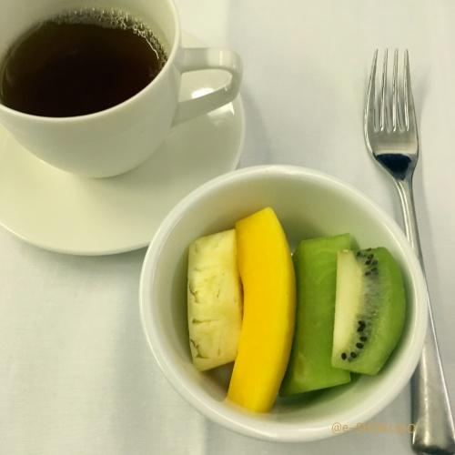 ANA国際線機内食デザート