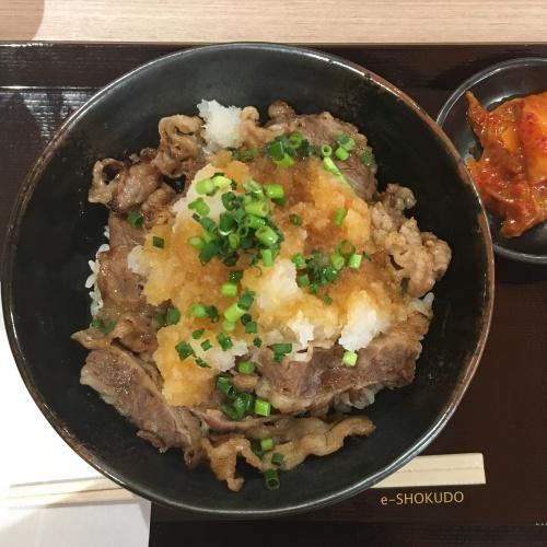 肉のヤマキおろしポン酢2