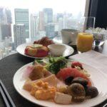 コンラッド大阪エグゼクティブラウンジ朝食