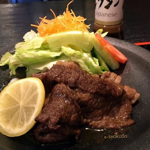 洋食屋牛銀焼肉定食アップ