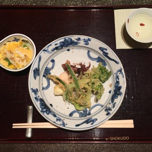 弁いち のびるの天ぷら