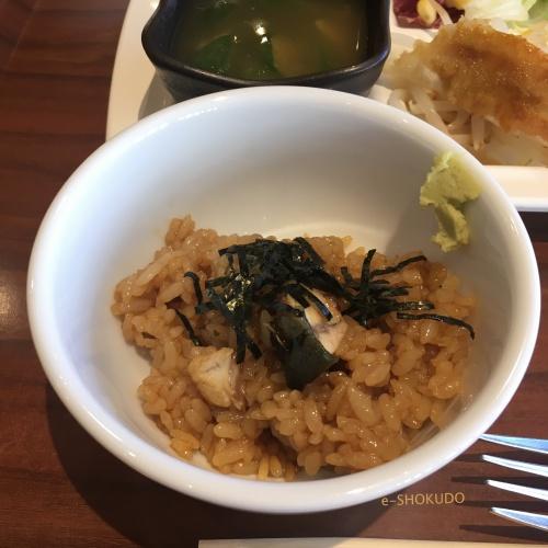 リッチモンドホテル浜松 朝食 うなぎごはん3