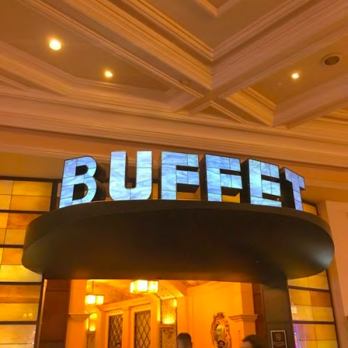 buffet入り口